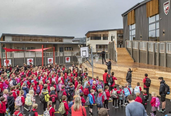 The opening of Redcliffs Primary | Crown FIL Workspace