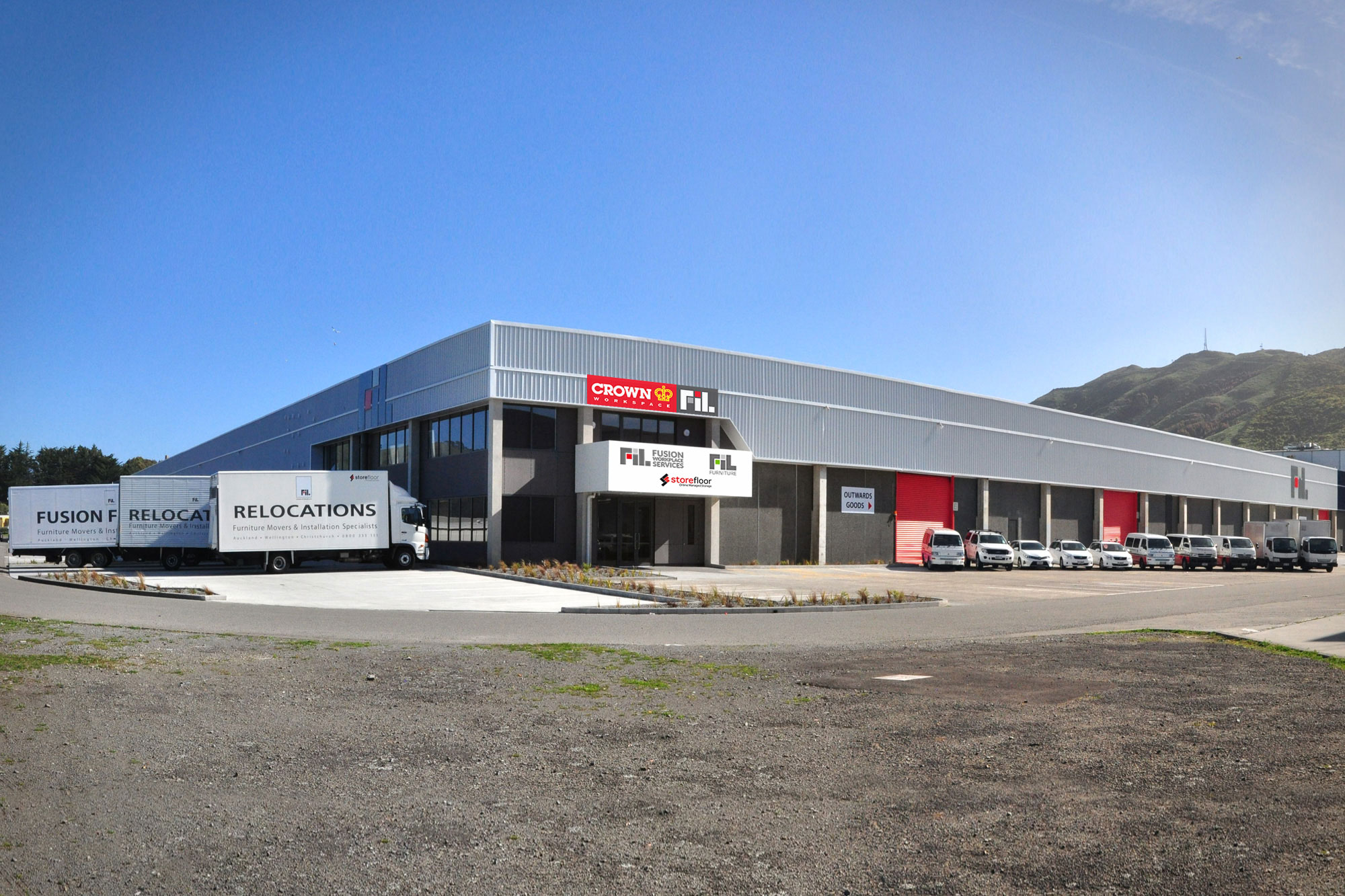 Crown FIL Workspace - Porirua Wellington